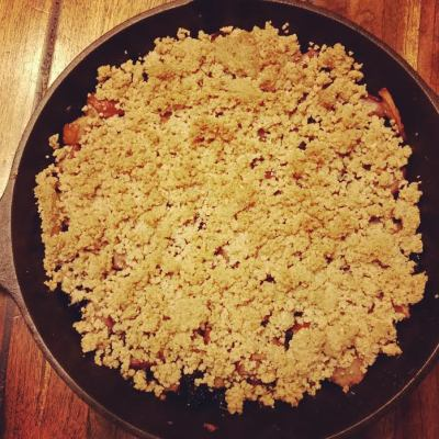 pear-and-blueberry-crumble